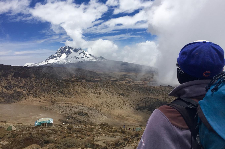 Vue sur le mont Mawenzi