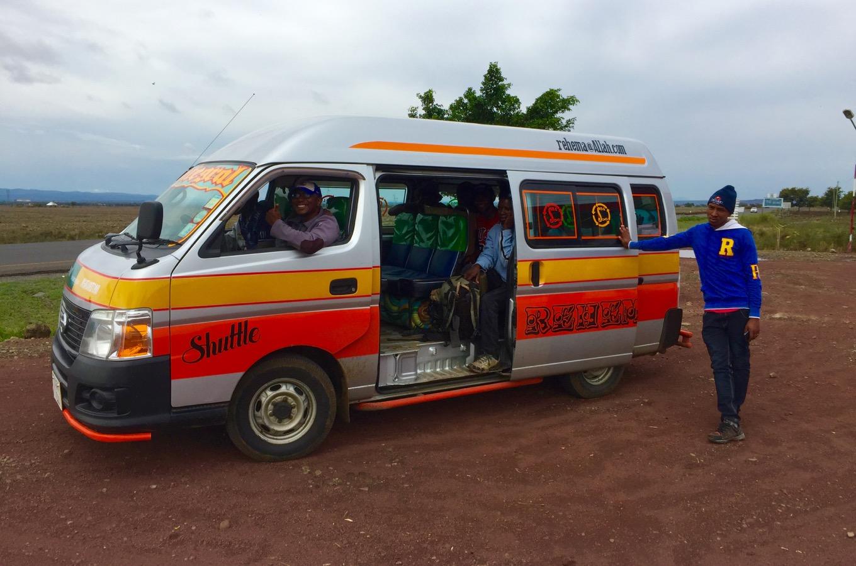 Anreise zum Machame Gate zur Besteigung des Kilimandscharos