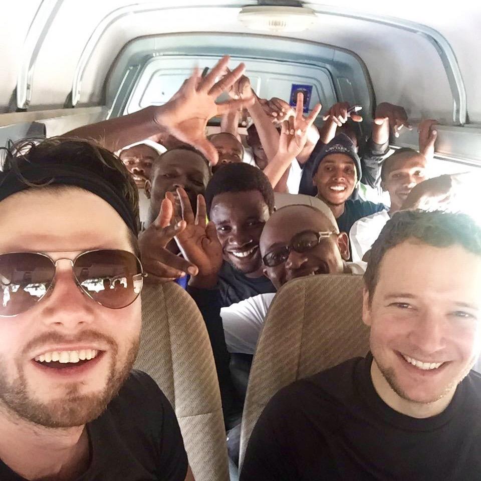 Way back from Kilimanjaro National Park to Arusha