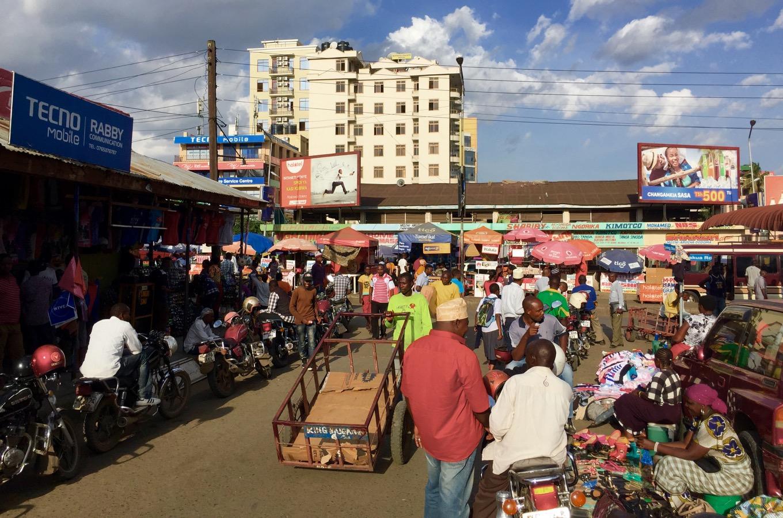 Marché à Arusha