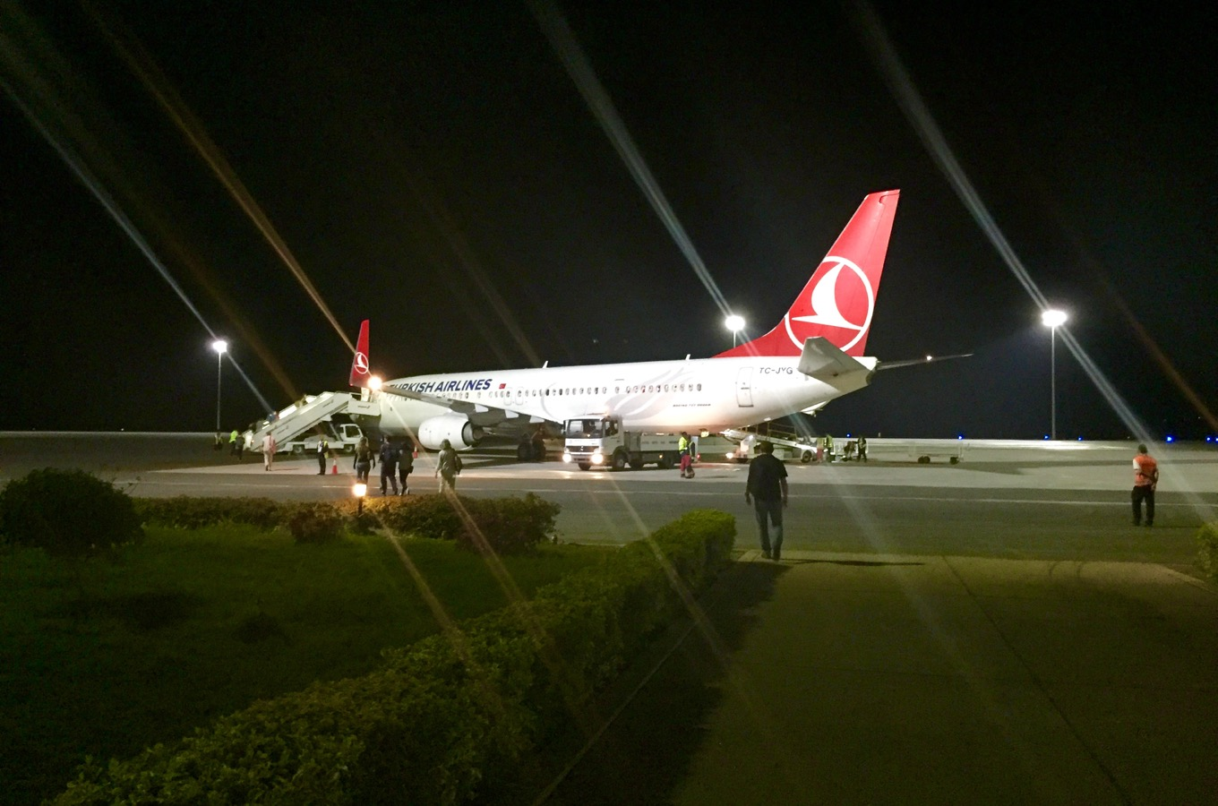 Départ de l'aéroport international du Kilimandjaro avec Turkish Airlines