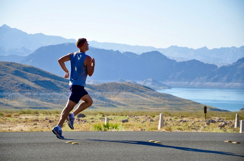 Jogging physical training Kilimanjaro