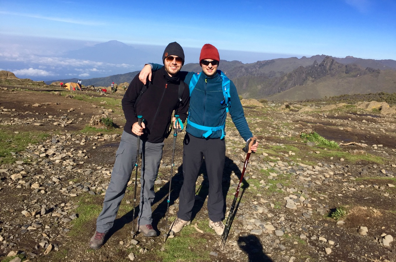 A personal experience with altitude sickness while climbing kilimanjaro