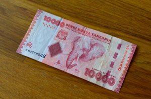 10000 Schilling tanzanien
