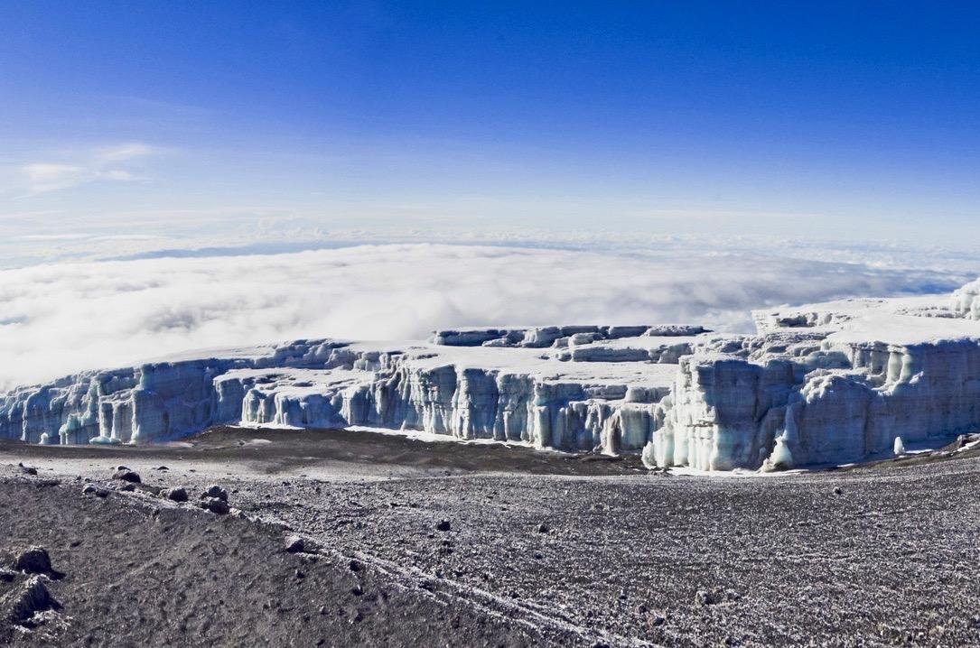 Vegetationszonen Kilimandscharo Ewiges Eis
