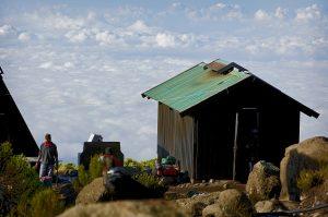 Campsite view in Kilimanjaro Marangu route trail