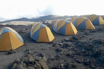 Equipment on Kilimanjaro Tents
