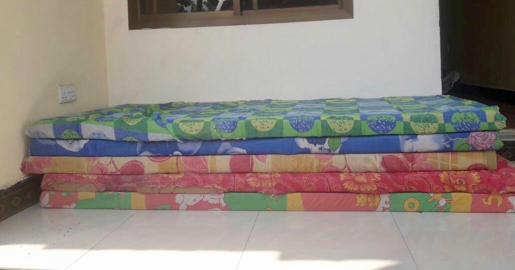 Equipment on Kilimanjaro mattresses