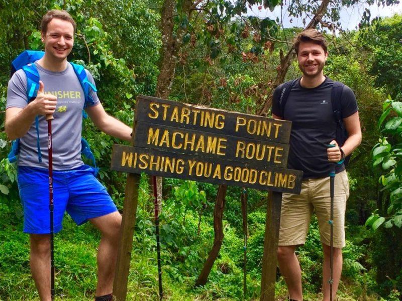 Startpunkt Machame Route Kilimandscharo