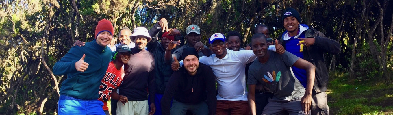 Our team from Jambo Kilimanjaro