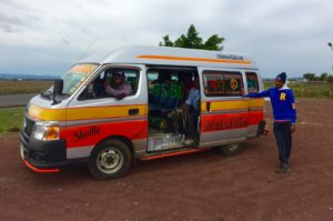Transport to Arusha National Park to climb Mount Meru