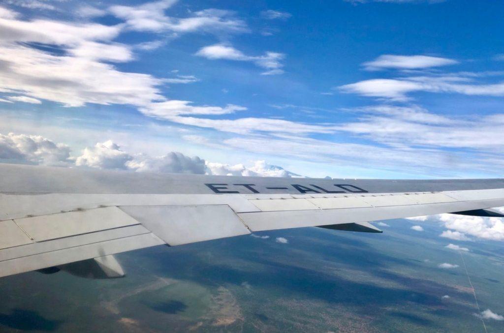 Rückflug nach Deutschland von Sansibar
