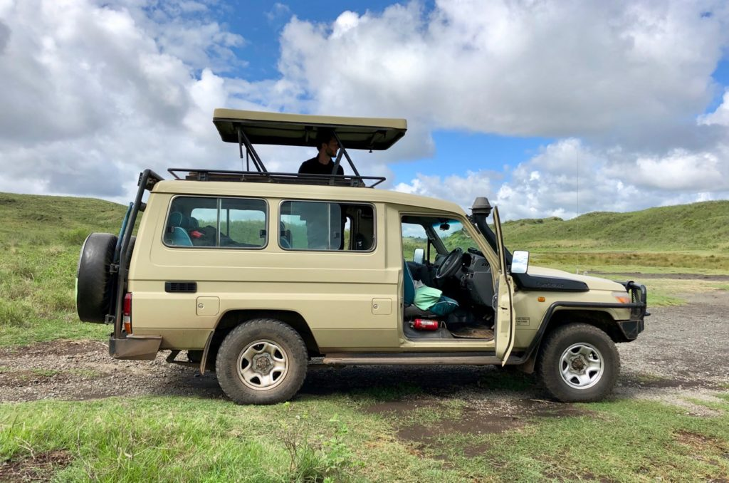 Safari Jeep in Arusha National Park