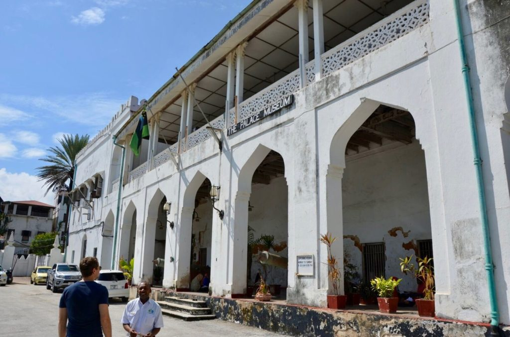 Museum in Stone Town, the capital of Zanzibar